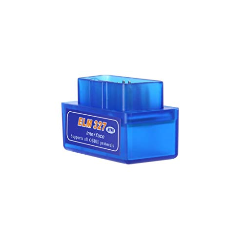 Mini Portable ELM327 V2.1 OBD2 II Diagnose Auto Auto Interface Scanner Blau Premium ABS Diagnose-Tool Kaemma (Portable Color Scanner)