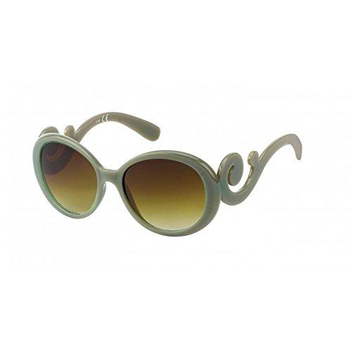 Chic-Net Gafas de sol Mujeres 400UV teñido espiral de color beige mar
