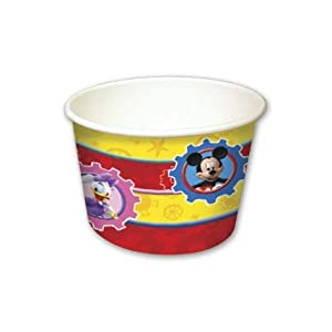 Exclusive Trade - Copas de helado Mickey Mouse, multicolor, PR89342