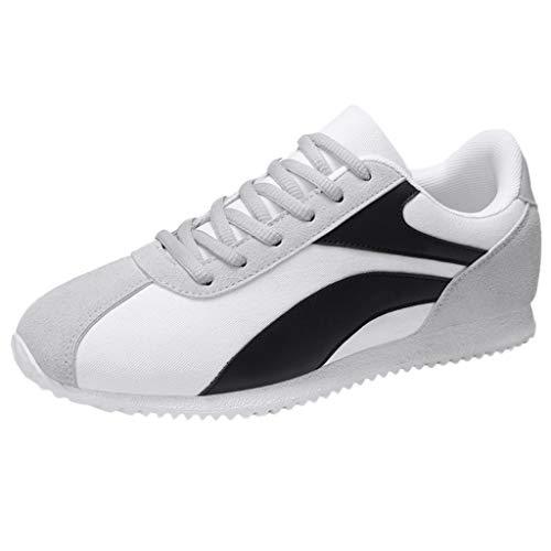 xmansky Herren Damen Laufschuhe Sneaker Straßenlaufschuhe Sportschuhe Turnschuhe Outdoor Leichtgewichts,Vintage Mode Schuhe Outdoor Freizeitschuhe Sommer Herren Schuhe Lazy Schuhe Braided Wedge Sandal
