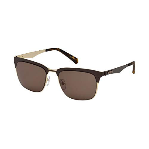 Guess Unisex-Erwachsene GU6900 49E 52 Sonnenbrille, Braun Scuro Op/Marrone