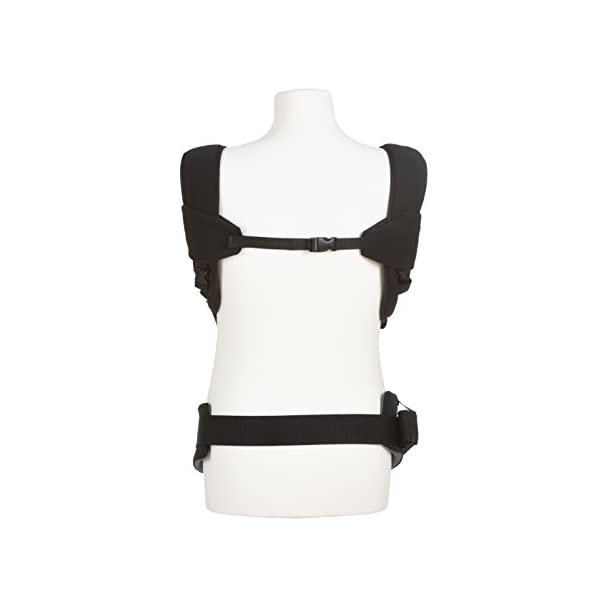 Fisher Price Hauck Close to me Ergonomic Baby Carrier New-born, Front, Breathable, Adjustable, for Infants from Birth up to 12 kg, Lumbar Support Belt, Black Fisher-Price  2