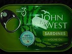 John West Sardines in Oilve Oil, 120g