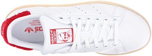 Adidas Womens Stan Smith Leather Trainers Blanc