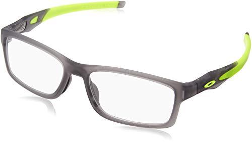 Oakley Rx Brillen - Cross Trubridge Asien Fit (56) - Satin Grau Rahmen Nur Satin Grey Smoke