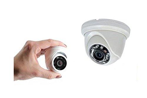 BES SRL Micro mini telecamera videosorveglianza dome 12 led ahd 2mp 3.6mm ly-1208