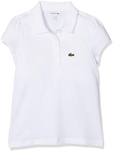 Lacoste Mädchen Poloshirt PJ3594, (Weiß), 12 Jahre (Hersteller Größe: 12A)