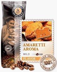 Coffee-Nation Aroma-Kaffee Italian Amarettini 1000g Bohnen | Spitzenqualität | Kaffeeliebhaber