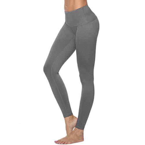 265dcf0e3f981 Élastique Stretch Pantalon De Yoga Femmes, Taille Haute Casual Pantalon De  Yoga De Couleur Unie