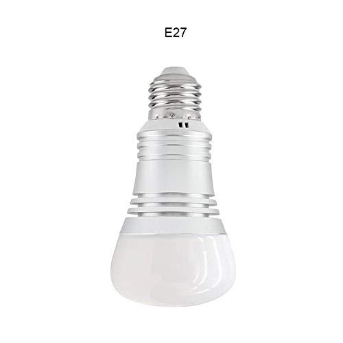 Glory D WiFi Smart Bulb Color Dimmerabile 15W RGB Smart Light E27 LED Smart  Light Funziona con Amazon Echo Alexa Google Home e Altri Smart Audio
