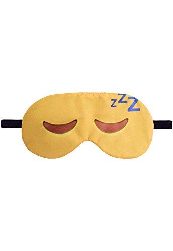Schlafbrille Emoji Emoticon Closed Eyes Sleep Schlafen Geschlossene Augen Schlafmaske Brille Augenmaske Augenbinde Sleep Eye Mask Schlafhilfe
