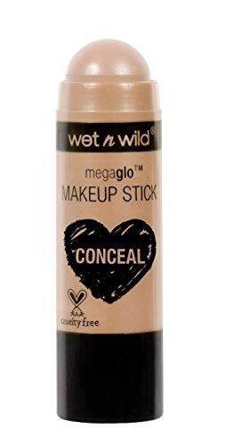 Wet N Wild - Megaglo Make-up Stick Concealer - Makeup-Stift in 3 verschiedenen Farbtönen, Follow Your Bisque, 1er Pack -