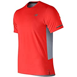 New Balance MC Ice 2E Camiseta, Hombre, Flame, L