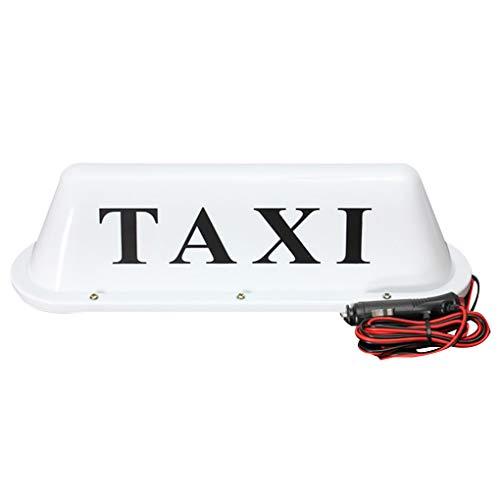 Preisvergleich Produktbild Auto-LKW Taxi Cab Sign Dach Dome LED-Licht-Lampe Shell Magnetfuß Zigarettenanzünder 12V