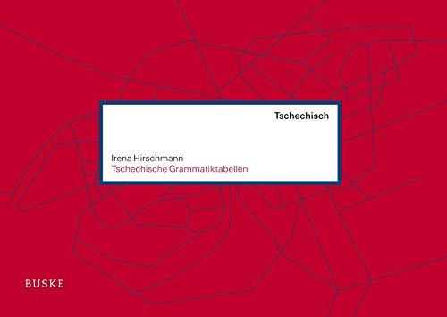 Tschechische Grammatiktabellen