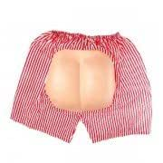 Halloween Costume Party Props Funny Trick Props Fancy Dress Wacky Dew Buttocks Shorts-Color Random