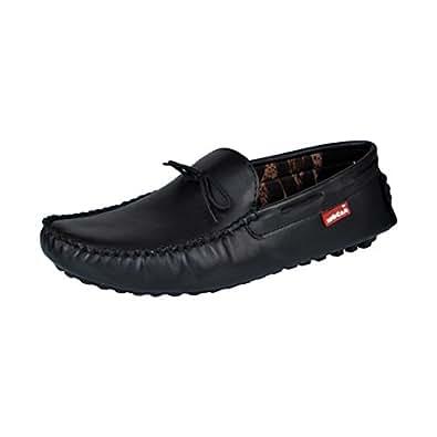 Mocas 767 Black Driving Loafers 7 UK