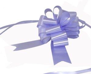 Pull Bows Lot de 20 Nœuds à Tirer satinés x 50 mm Violet/Lavande