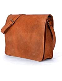 NeoFeral 100% Original Goat Leather Messenger Bag Laptop Bag MacBook Pro MacBook Air Slim Bag For Men/Women/Girls...