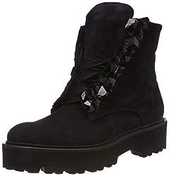 Kennel und Schmenger Damen Bobby Biker Boots, Blau (Pacific/Black 548), 40 EU
