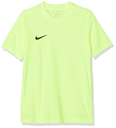00747f53 Nike - Park VI - Maillot - Mixte Enfant - Jaune (Volt/Black)