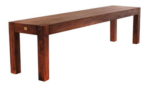 SAM® Sitzbank Wales 1525 Palisander 180 cm dunkel Holz angenehmer Sitzkomfort hochwertige