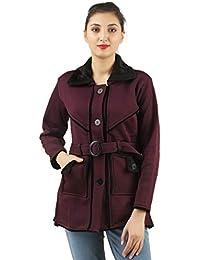 fanideaz Cotton Full Sleeve Casual Jackets for Women Purple