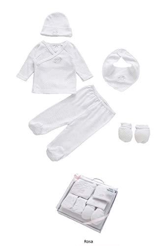 Duffi Baby 1378-06 - Set regalo topitos 100% algodón