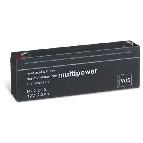 akku-net Bleiakku (multipower) MP2,2-12 VDs, 12V, Lead-Acid