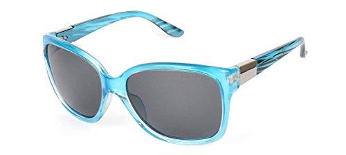 Preisvergleich Produktbild Modische Polarisierende Damen-Sonnenbrille mit Metall-Dekor