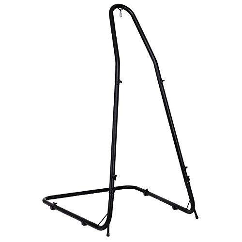 Costway supporto per amaca a sedia sostegno per sedia sospesa in ferro regolabile in altezza