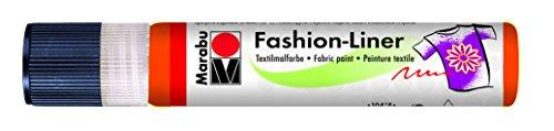Marabu Fashion-Liner, 25 ml, Rotorange [Haushaltswaren]