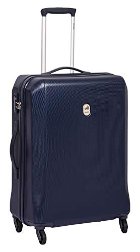 Delsey Misam ABS 66 Cm 4 Wheels Blue Medium Hard Suitcase