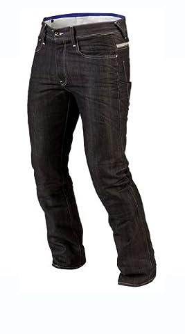 Juicy trendz Hommes Motorcycle Moto Pantalon Motards Jeans Renforcée Aramide