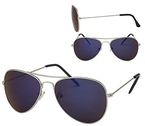 Alsino 70er 80er Jahre Retro Sonnenbrille Pornobrille Pilotenbrille Sonnenbrillen V-705