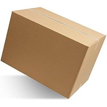 imballaggi2000 Scatole In Cartone Doppia Onda Misura 20X15X20 cm Avana Imballi Pezzi 10