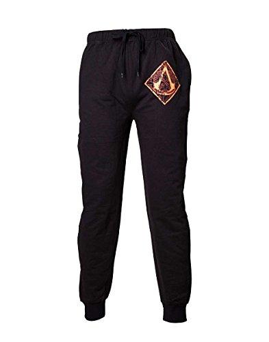 Preisvergleich Produktbild Assassin's Creed Brown Golden Logo Pyjama-Hose schwarz S
