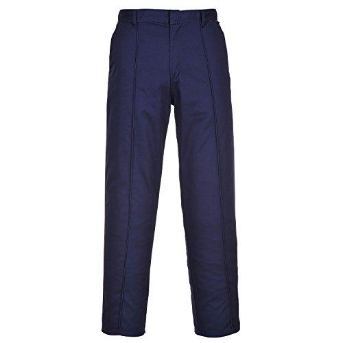 Portwest Wakefield Durable Pantalon de travail Pantalon avant pli de travail 71,1cm–121,9cm Marine
