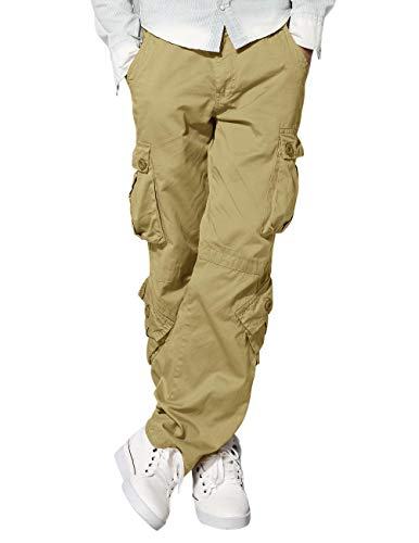 Match 3357 - Pantalones Cargo HombreCaqui 3357 Khaki,34W
