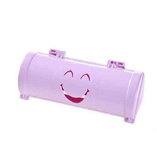 ZJDD Müllsack 10 Farben Home Umweltfreundliche Lächeln Gesicht Müllsäcke Aufbewahrungsbox Küche Paste Typ Pp Kunststoffbehälter, Lila
