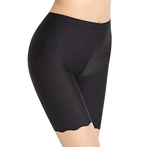 Timitai 3er Pack Damen Unterwäsche Ice Bottom Pants DREI Paar Plain Underwear Komfortable - Billig Sexy Polizei Kostüm