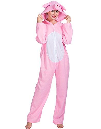 Eraspooky unisex canguro zoo giungla animale tuta carnevale party costume