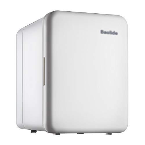 Mini Refrigerador Silencioso para AutomóVil, 4l de Capacidad, Refrigerador PequeñO ElectróNico, Doble...