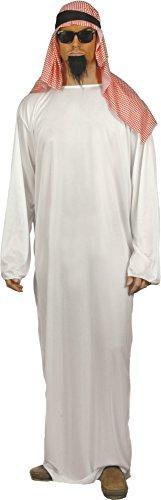 Imagen de smiffy's  disfraz de árabe para hombre, talla m 24805m  alternativa