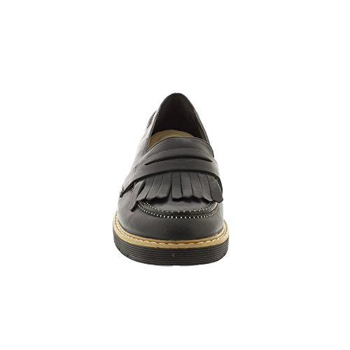 Clarks Witcombe Dawn, Scarpe Oxford Donna Nero (Black Nubuck)