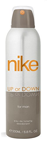 Nike Up Or Down Men Deo for Men, Silver, 200ml