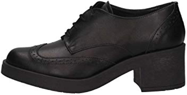 Luni Made In Italy 8431 ORIBO Nero Nero Nero French Shoes FemmeB07G9WCXQYParent 982a45