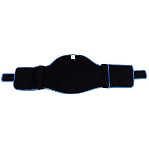 Drive Medical Vertewrap LSO Back Brace, Black, Small by Drive Medical