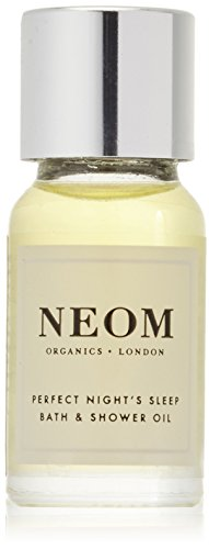 Neom Organics London Perfect Night's Sleep Tranquillity Bath & Shower Oil - Scent to Sleep Range (10ml)