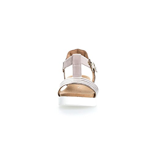 Gabor Damenschuhe 62.703.82 Damen Sandalen, Sandaletten, Mehrweite rose/light nude